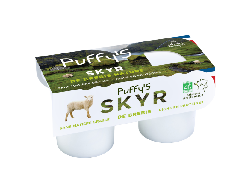 Pack Puffy's SKYR brebis nature détouré
