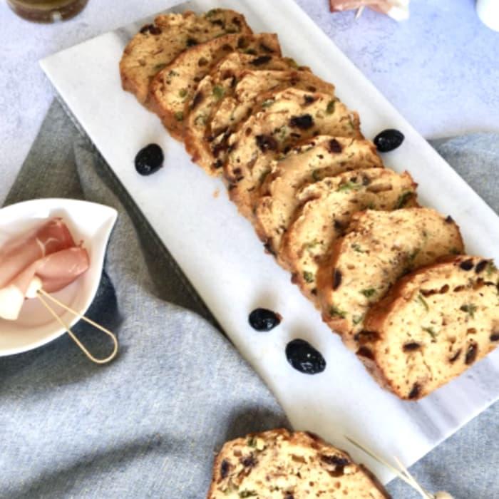 cake léger aux olives et au skyr