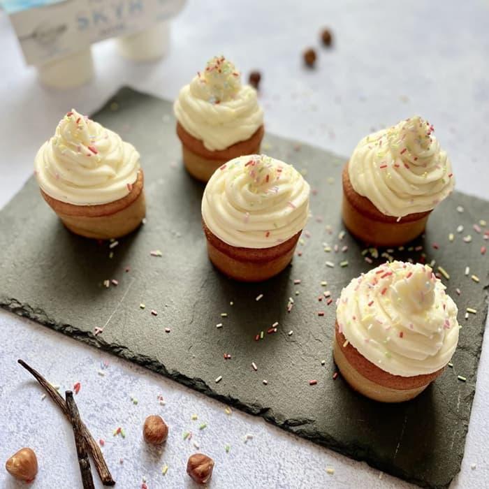 Recette cupcakes glacage skyr