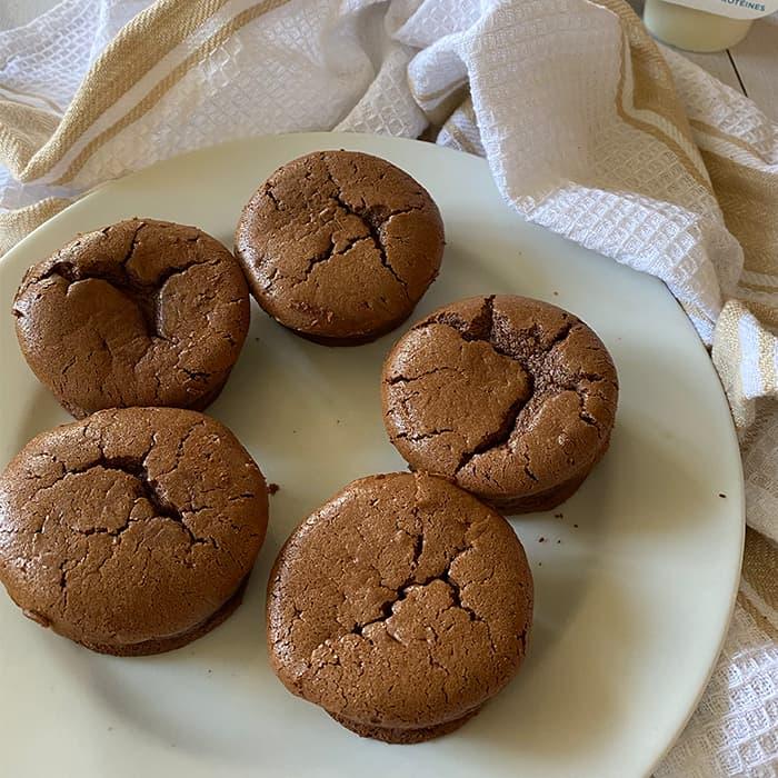 moelleux au chocolat base SKYR Puffy's