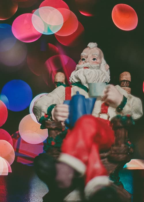 Père Noël figurine