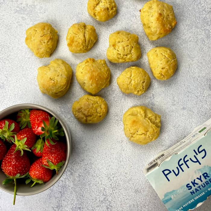 biscuits skyr Puffy's