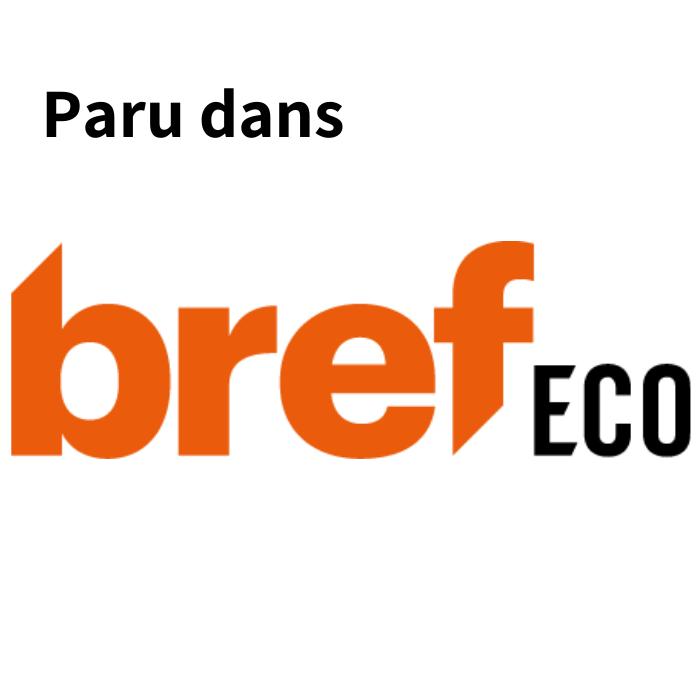 Article paru dans la presse Bref Eco