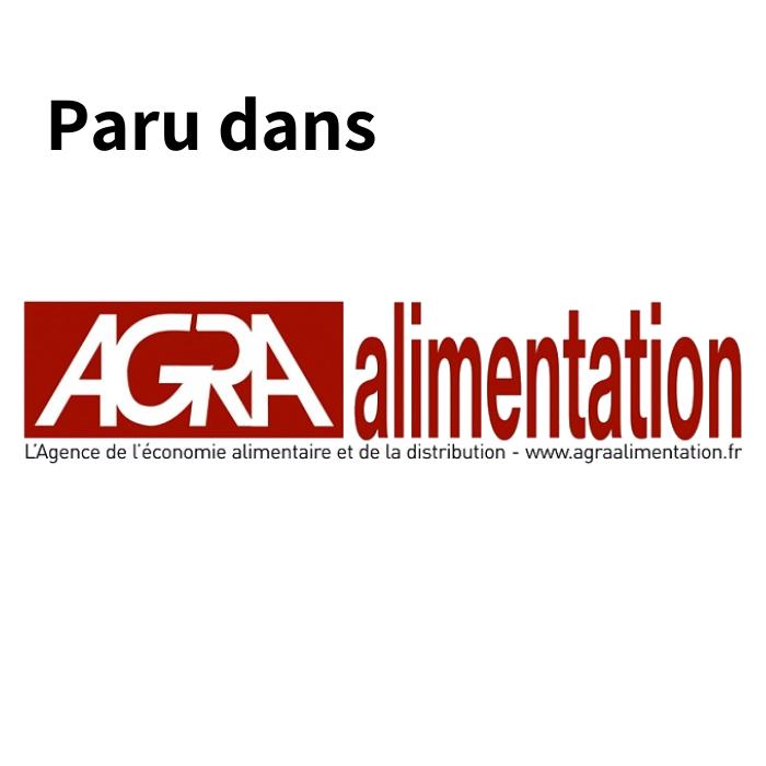 Article paru dans la presse Agra Alimentation