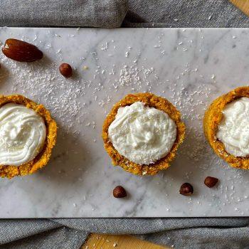 Cupcake aux carottes et SKYR
