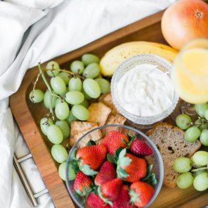 petit-déjeuner skyr bio gourmand